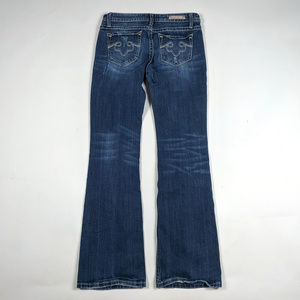 Express Jeans - ReRock for Express Boot Cut Size 6 Distressed Jean